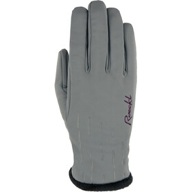Roeckl Kirchsee Windproof Gloves Women, dark grey